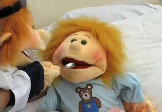 Living Puppet at the Doctors